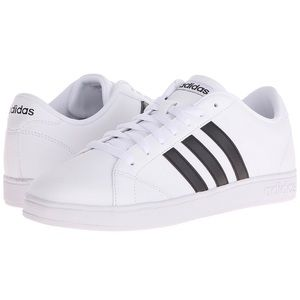 Brand New Adidas NEO White Sneakers Baseline Shoes
